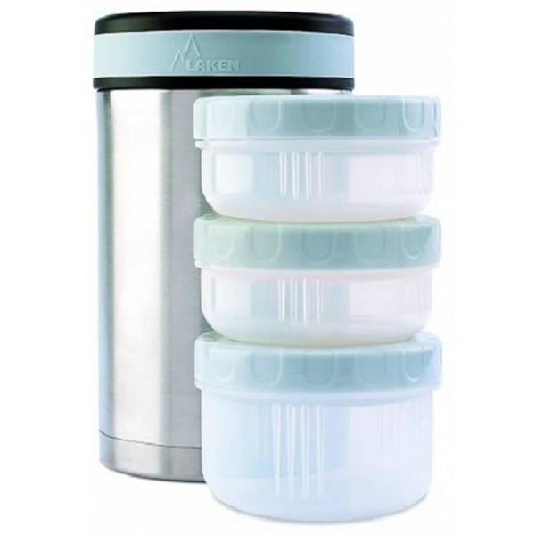 Afbeeldingen van Food container 1,5 L / 3 leakproof