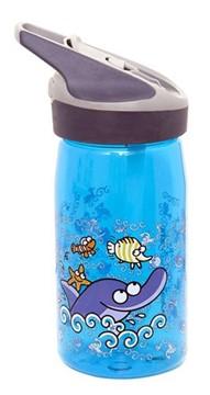 Afbeeldingen van Tritan bottle KXS Blue Delfin 0.45L