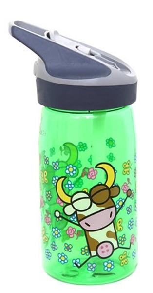 Afbeeldingen van Tritan bottle KXS Green Vacaline 0.45L
