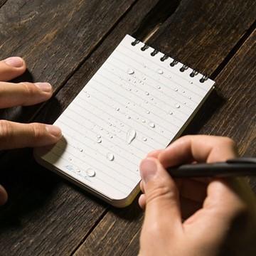 Afbeeldingen van Top spiraal notebook 7½ x 12½ cm