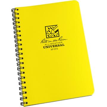 Afbeeldingen van Zij spiraal notebook 10 x 17½ cm