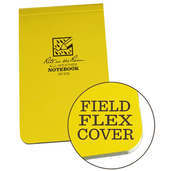 Afbeeldingen van Top gebonden notebook flex cover 7½x12½