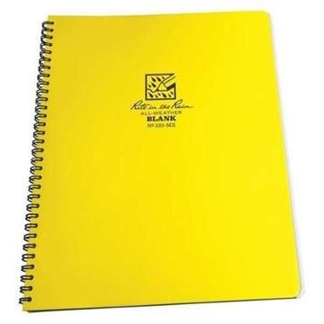 Afbeeldingen van Zij spiraal Maxi notebook blank 21x28cm