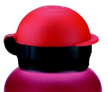 Afbeeldingen van Drinking cap SW HIT red
