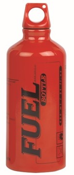 Afbeeldingen van Fuel bottle red 0.6L
