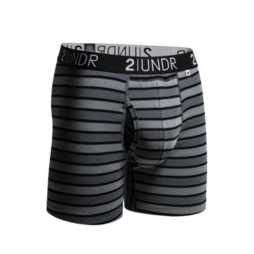 Afbeeldingen van Swing Shift Boxer Black stripes