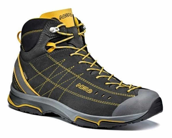 Afbeeldingen van Nucleon mid MM - graphite/yellow