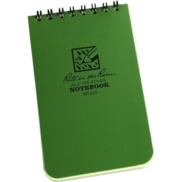 Afbeeldingen van Top spiraal notebook 7½ x 12½ cm groen