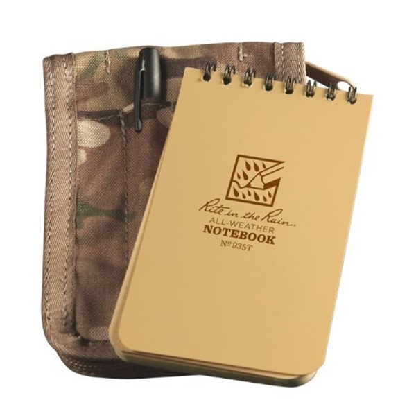 Picture of Canvas cover + notebook 146 + pen Multi