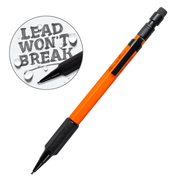 Afbeeldingen van Mechanical Clicker Pencil 1.3 mm orange